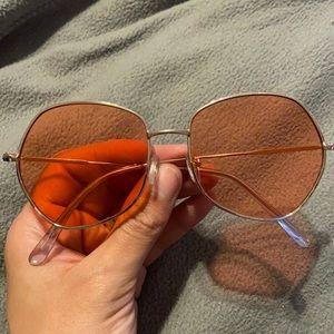 Pink Hippie Sunglasses